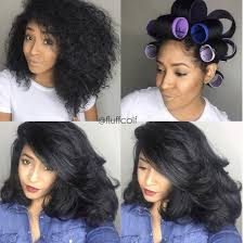 hair growth with wet set hairstyle amazing roller set on natural hair roller set hair style and