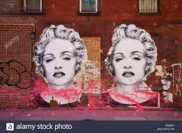marilyn monroe stock photos marilyn monroe stock images alamy marilyn monroe graffiti on a wall in the trendy meat packing district in new york