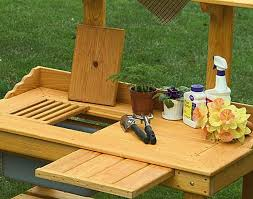 Redwood Potting Bench 130 Best Potting Benches Images On Pinterest Potting Bench With