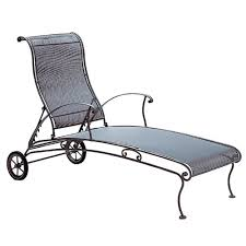 Chaise Lounge With Wheels Outdoor Ow Lee Replacement Cushions Chaise Lounge W Wheels Furniture