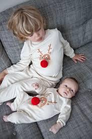sibling pyjamas reindeer pj mamma