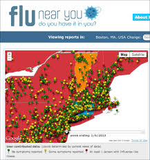 Google Maps Boston Ma by Google Flu Trends Idisaster 2 0