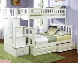 Bunk Bed Headboard White Bed With Storage Staircase Bunk Bed