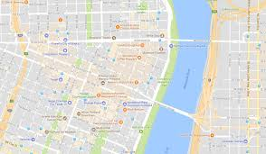 Google Map Portland Oregon by Look For The Orange Google Maps Travel Hack