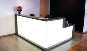 Tufted Salon Reception Desk Surprising Salon Reception Desk Design Desks Cheap Interior Ideas