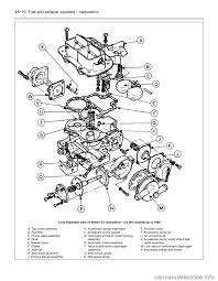 ford sierra 1992 2 g fuel and exhaust systems carburettor workshop