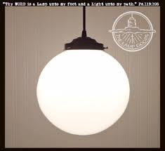 Milk Glass Pendant Light Winterport Milk Glass Pendant Light Large Globe 10 The L Goods