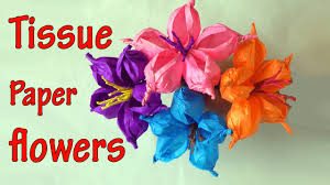diy crafts how to make tissue paper flowers easy ana diy