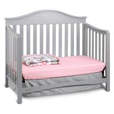Gray Convertible Cribs by Graco Harbor Lights 4 In 1 Convertible Crib Hayneedle