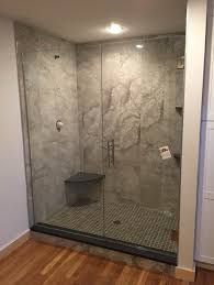 The Shower Door Doctor Custom Glass Pivot Shower Doors Glass Doctor