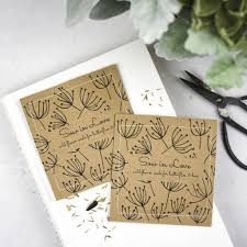 seed favors wedding wildflower seed packet favors with seed by ovo