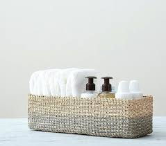 Changing Table Storage Changing Table Storage Open Weave Large Changing Table Basket