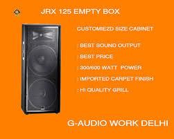 empty 15 inch speaker cabinets jrx 125 speaker empty box jbl style at rs 12000 piece speaker box