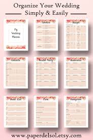 wedding planner organizer book wedding planner book wedding planner printable use these