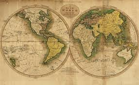Map Of The Western Hemisphere How To Be A Writer The Map Is The Territory Literary Hub