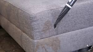 Steam Clean Sofas How To Clean A Fabric Sofa With A Steam Cleaner Youtube