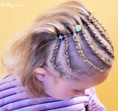 Frisuren Cornrows Anleitung by Fotogalerie Kinderfrisuren