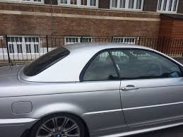 bmw 3 series convertible e46 hardtop in silver just the roof for