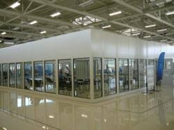 security booth guard booths portafab new free standing wall partitions from portafab meet industry