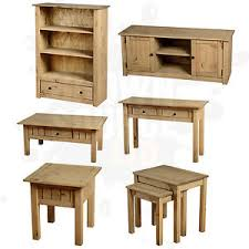 Pine Living Room Furniture by Pine Living Room Furniture Coffee Table Tv Stand Nest Of Tables