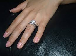 do you wear the engagement ring and wedding band together 1 ifec