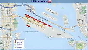 Mia Terminal Map Portinfo Miami Florida Usa Usa Ostküste Kreuzfahrtinfos