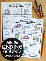 write the beginning sound worksheets this reading mama