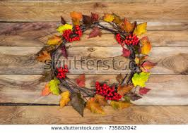 fall wreath on door stock images royalty free images vectors