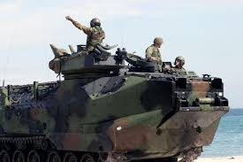 amphibious vehicle military file us navy 040223 m 4806y 033 amphibious assault vehicles aav