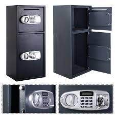 digital key lock box wall mount drop box safe ebay