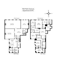 740 park avenue floor plans 740 park avenue seller s collective