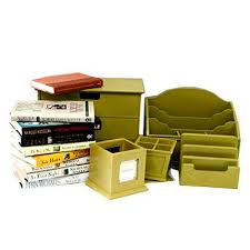 Matching Desk Accessories Matching Desk Accessories And Grouping Of Books Ebth