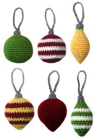 7 proyectos de navidad a crochet crochet christmas ornaments