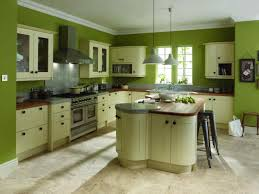 Green Painted Kitchen Cabinets Bespoke Olive Green Painted Kitchen Cabinets In Farrow U Ball