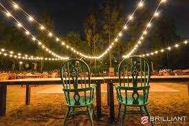 San Diego Backyard Wedding Backyard Wedding Reception Market Lights