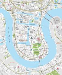 London Maps London Docklands With Canary Wharf Map Maproom