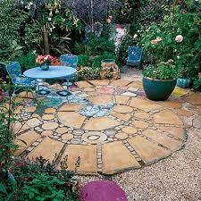Patio 45 Patio Pavers 5 25 Beautiful Circular Patio Ideas On Pinterest Nice Small