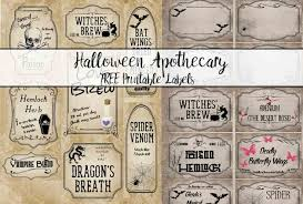 desert halloween background free printable halloween apothecary labels 16 designs plus blanks