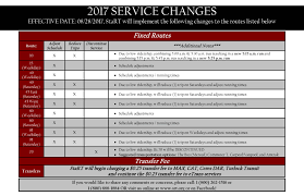 Bart Schedule And Map by Stanislaus Regional Transit