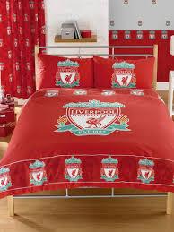 Manchester United Double Duvet Cover Liverpool Fc Double Duvet Set