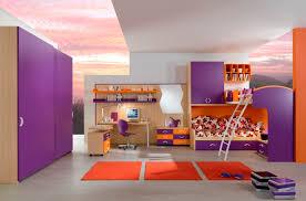 Cute Ideas For Girls Bedroom Girls Bedroom Divine Purple Orange Bedroom Decoration Using