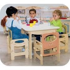 tavolo sedia bimbi tavolino per bambini arreda la cameretta adatto ad asili e scuole