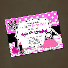 excellent luau slumber party invitations features party dress