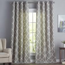 Curtains For Front Door Window Front Door Window Curtains Wayfair