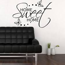 Home Sweet Home Decor Wall Decal Home Sweet Home Color The Walls Of Your House