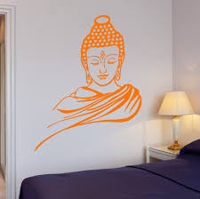 Meditation Home Decor by 3d Poster Classic Religion Buddhism Buddha Meditation Wall Sticker