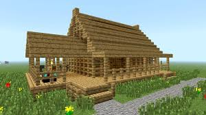 simple homes to build minecraft how to build little wooden house youtube