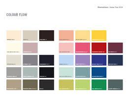 colour of 2016 colour flow charts from our plascon colour forecast 2016