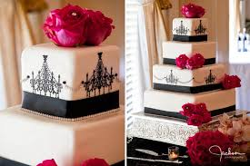 Red And Black Wedding Red And Black Wedding Cakes Reference For Wedding Decoration