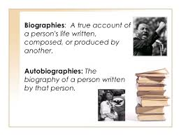biography definition and characteristics literary genres